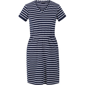 Regatta Havilah Dress Women, navy/white stripe